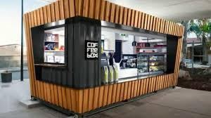 shipping container coffee shop for sale youtube