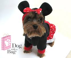 Large Halloween Costumes Disney Minnie Mouse Dress Chihuahua Yorkie Dog Coat Large