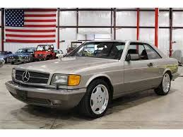 mercedes 560 sec coupe for sale mercedes 560sec for sale on classiccars com 9 available