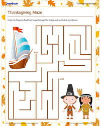 thanksgiving maze free printable mazes for jumpstart