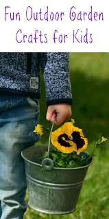 Garden Crafts For Children - outdoor garden crafts for kids gardens kids crafts and crafts