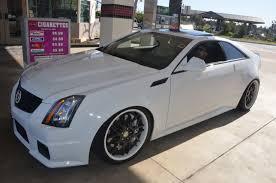 white cadillac cts black rims cts v coupe cars cars cadillac and cars