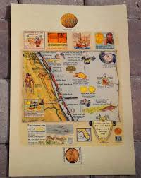 St Augustine Fl Map Dateline St Augustine Florida Limited Edition Tiles Available