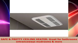bathroom ceiling heater with a free thermometer bundle 120 volts
