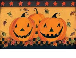 u0026 outdoor halloween glow matmate doormat 18x30