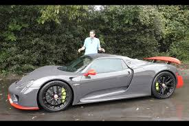 porsche 918 spuder here s what it s like to drive a 1 7 million porsche 918 spyder