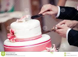 wedding cake cutting wedding cutting a wedding cake stock photos image