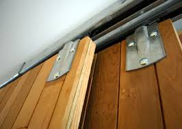 How To Install Barn Door Hardware Bypass Sliding Closet Door Hardware