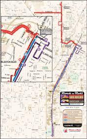 Las Vegas Tram Map Las Vegas Marathon Course Map Virginia Map