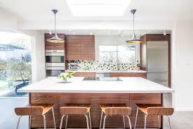 mid century modern walnut kitchen cabinets midcentury modern kitchen renovation with destination