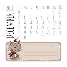 Calendario Diciembre 2018 Calendario De Dibujos Animados De Gatos 2018 Comienza El Lunes