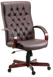 Executive Brown Leather Office Chairs Executive Office Chairs