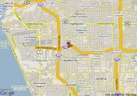 map of inglewood california map of best value inn and suites inglewood inglewood