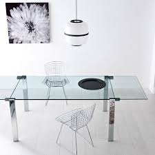 lucido extending central part white 22 best sovet glass dining tables images on workshop