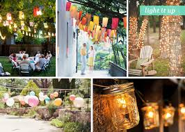 outside party lights ideas how to light up your backyard for a party adams flowers
