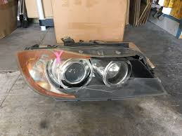 bmw e90 headlights oem 06 08 bmw e90 e91 325i 328i 330i 335i xenon hid headlight