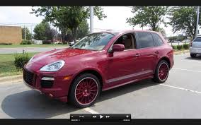 porsche truck 2006 2008 porsche cayenne gts 6 spd start up exhaust and in depth