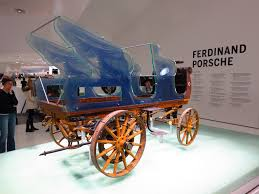 first car ever made in the world porsche made its first electric car before first world war