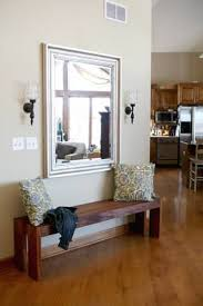 diy entryway bench 15 diy entryway bench projects decorating your small space