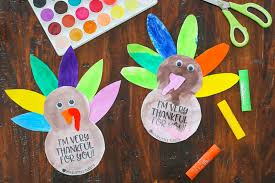 simple thanksgiving turkey craft with free printable template