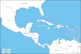 Mexico And Central America Map by Central America Free Map Free Blank Map Free Outline Map Free