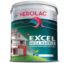 nerolac excel mica marble acrylic texture emulsion paint