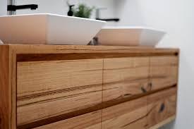 Timber Bathroom Vanity Timber Bathroom Vanities In Melbourne Intended For Vanity Design 3