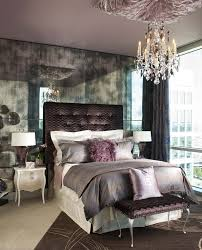 Purple Silver Bedroom - purple and silver bedroom transitional with chaise square