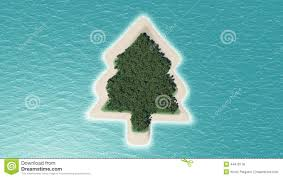 tree island stock illustration image 44476178