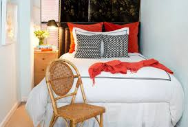 Bed With A Lot Of Pillows 10 Tips To Make A Small Bedroom Look Great