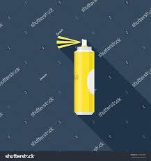 spray paint flat icon modern flat stock vector 229355080