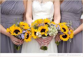 sunflower wedding bouquet 54 inspirational sunflower wedding bouquets wedding idea