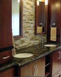 bathroom vanity backsplash ideas bathroom vanity backsplash or master bath vanity with marble