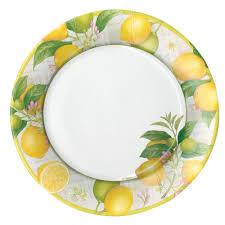 paper plates paper dinner plates tableware tabletop caspari