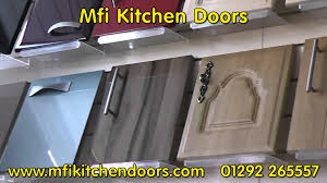 Discontinued Kitchen Cabinets For Sale Mfi Kitchen Doors And Mfi Kitchen Cupboard Door Youtube