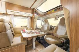 motor home interiors touring cars luxury class 2 4 6 berth motorhome information