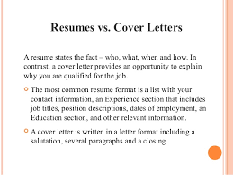 cover letter important ideas of why resume and cover letter is important for description