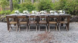 wedding table rentals olympic farm style events event rentals