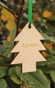 christmas tree decoration personalised tree decoration u2013 little