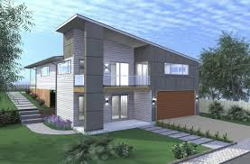 split entry house plans for narrow lots