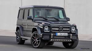 mercedes g class blacked out 2016 mercedes benz g500 and g63