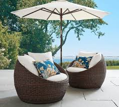 pottery barn patio furniture torrey all weather wicker papasan chair espresso pottery barn au