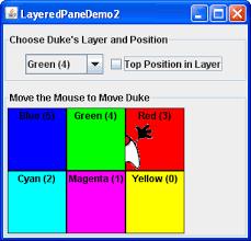 how to use layered panes the java tutorials u003e creating a gui
