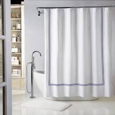 buy navy solid shower curtains from bed bath u0026 beyond