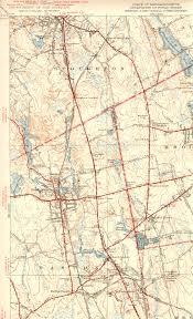Ma Map Historic Stoughton Maps