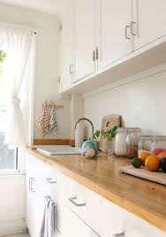 cuisine plan de travail bois massif plan de travail en bois pour votre cuisine bricobistro