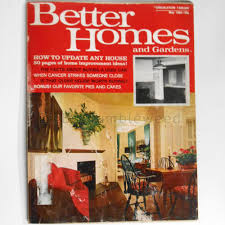 magazine better homes u0026 gardens may 1969 update house home design
