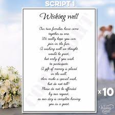 wedding wishes gift wishing well poems cards invitations ebay