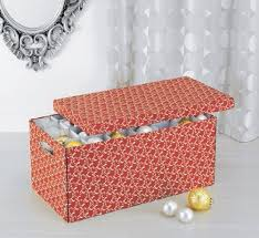 cardboard storage boxes neu home ornament storage box