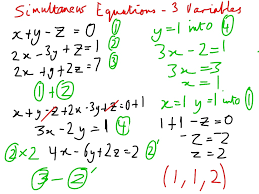symbols exquisite solving systems linear equations spanish solve